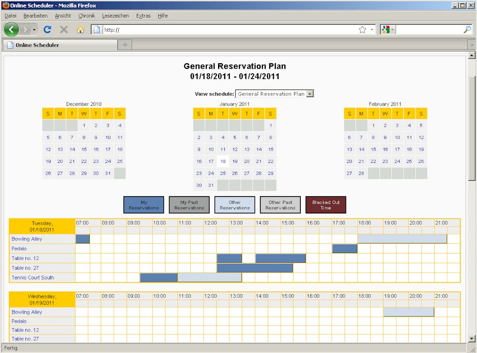 reservation system software free